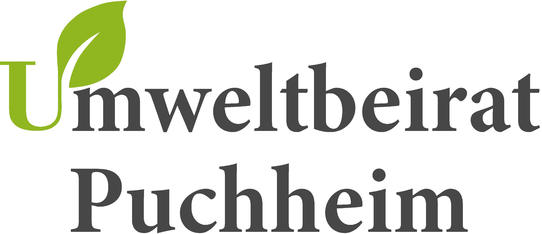 Logo Umweltbeirat - ein grünes Blatt an einem U